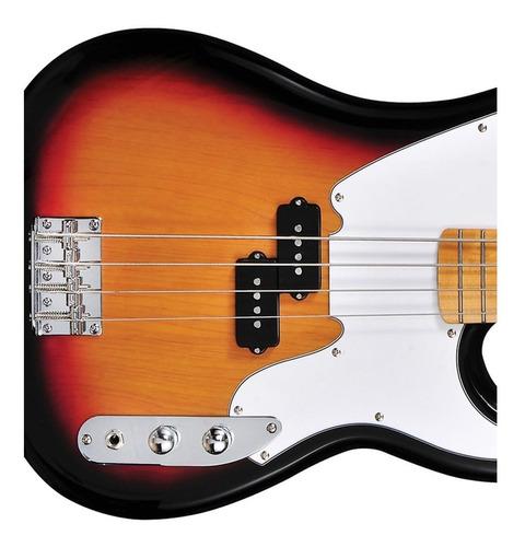 contra baixo tagima tw 66 precision bass 4 cordas sunburst