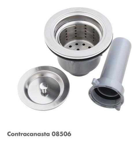 contra canasta c/canastilla tubo 8506 accesorio metalflu