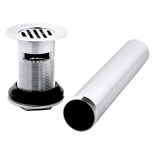 contra con rejilla modelo th-058 para lavabo con rebosadero
