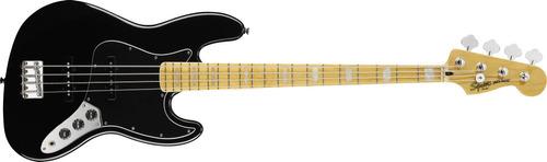 contrabaixo fender squier vintage modified jazz bass preto