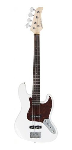 contrabaixo strinberg j.bass 4 cordas jbs-40 wh preto