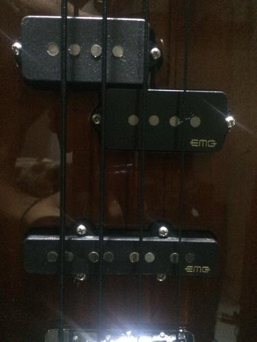 Yamaha TRBX174 • EMG GZR-PJ • DR Black Beauties Contrabaixo-yamaha-trbx174-D_NQ_NP_989460-MLB29955272984_042019-O