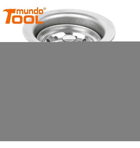 contracanasta de acero inoxidable con tubo de foset 49352