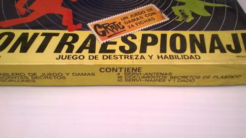 contraespionaje juego de mesa mexicano años 70s sin abrir