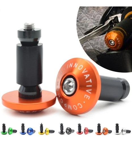 contrapeso tope innovative naranja aluminio  tx200 klr ktm u