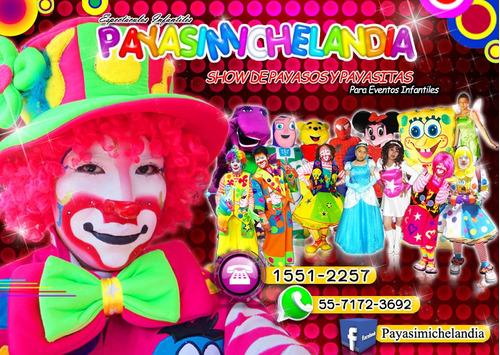 contratación de payasitos para fiestas infantiles