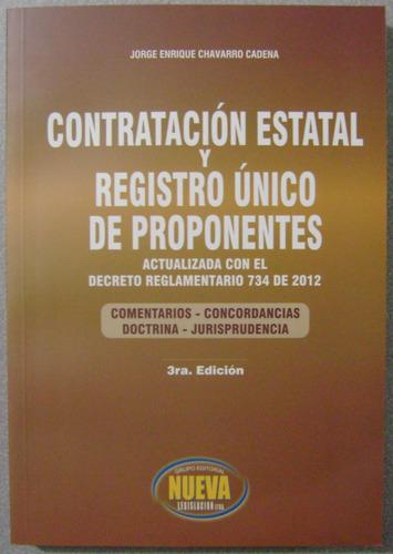 contratación estatal y registro único de proponentes - nueva