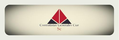 contratistas generales ciar sc demoliciones en general