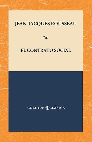 contrato social jean-jacques rousseau (col)