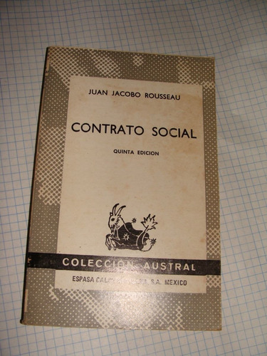 contrato social juan jacobo rousseau