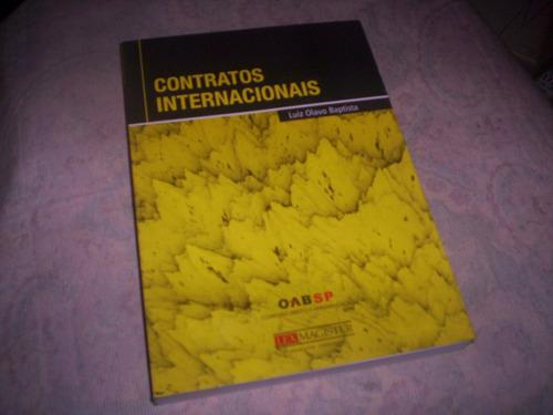 contratos internacionais luiz olavo baptista