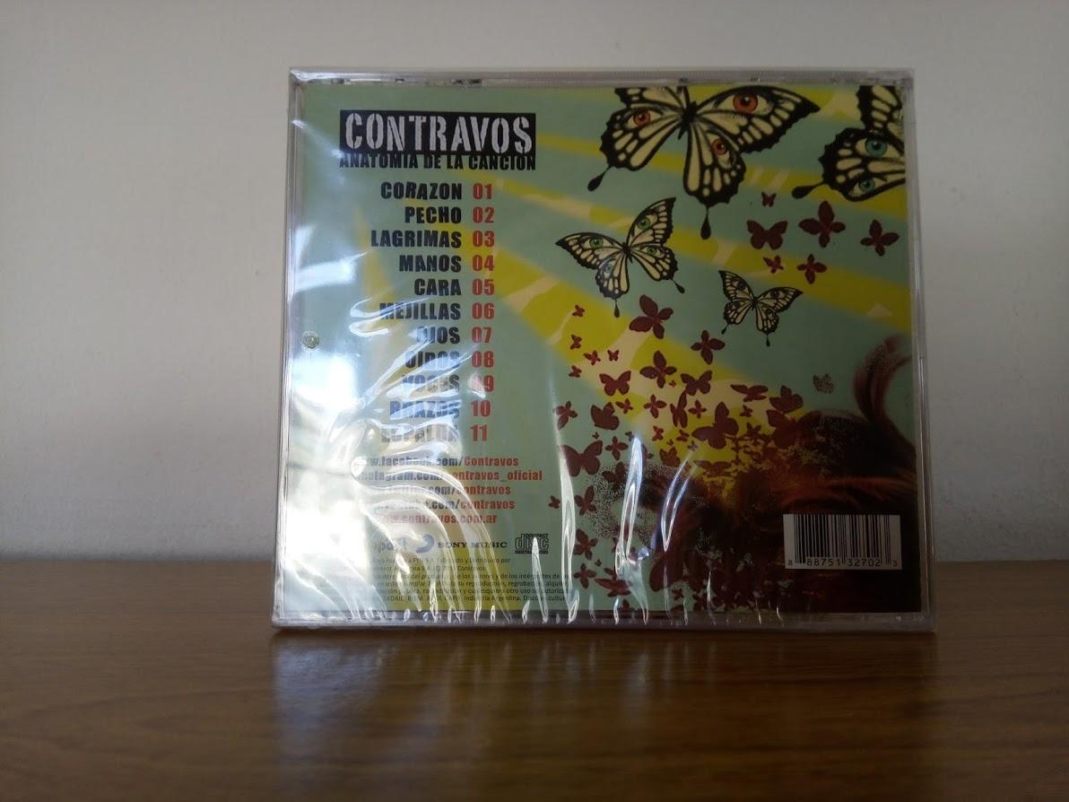 Contravos - Anatomía De La Canción - $ 100,00 en Mercado Libre
