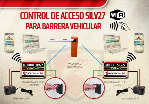 control acceso barrera torniquete portones estacionamiento