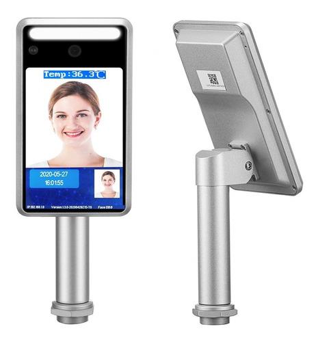 control acceso detección temperatura y barbijo