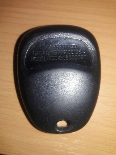control alarma remoto cavalier 2000-2005