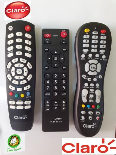 control arris para decodificador claro + pilas nuevo