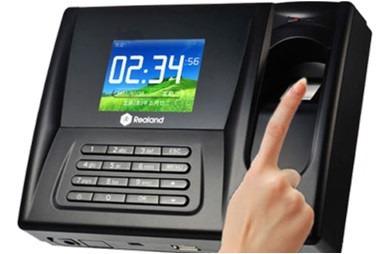control asistencia a color biometrico huella dactilar reloj
