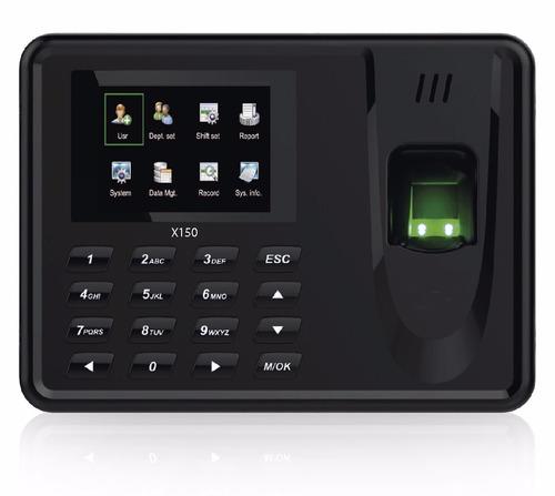 control asistencia a color biometrico reloj x150 app gratis