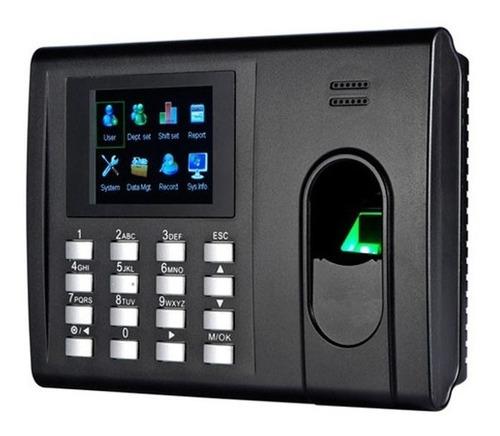 control asistencia zkteco k30 zksoftware huella tcp red