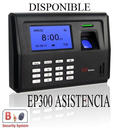control asistencias biometrico ep300 red/usb/bateria respald