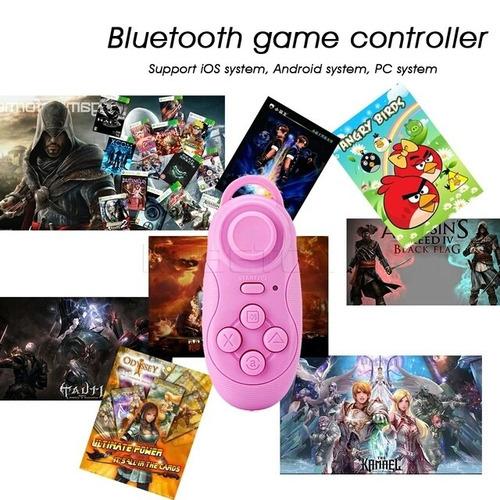 control bluetooth gamedpad 5 en 1 joystick selfie gafas vr