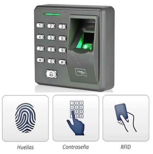 control de acceso biometrico/ 200 huellas