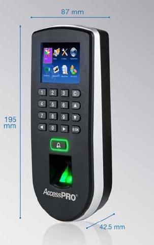 control de acceso biometrico standalone f19