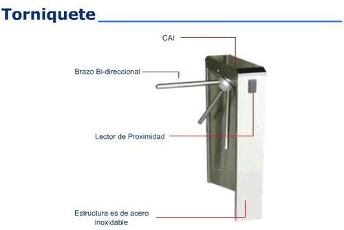 control de acceso instalación