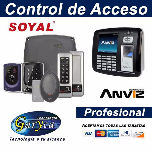 control de acceso profesional