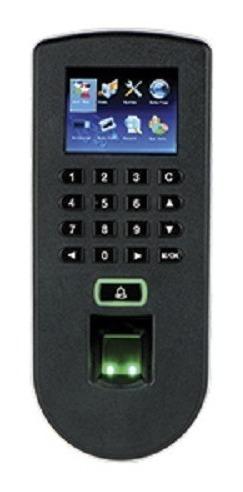 control de acceso zk f19 3000 huellas teclado proximidad