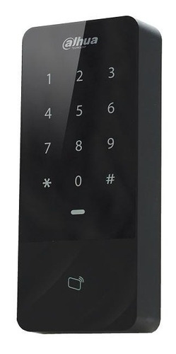control de accesos con teclado y lector de tarjetas 125khz
