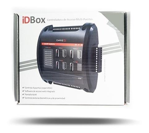 control de accesos control id idbox 4 puertas  ip webserver