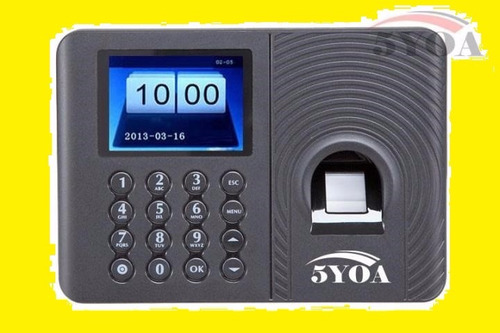 control de asistencia acceso biométrico huella nueva versión