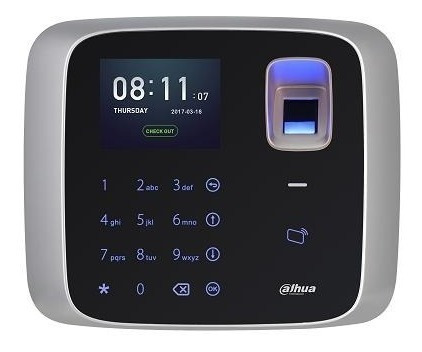 control de asistencia cámara/huella digital dahua (asa2212a)