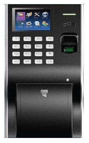 control de asistencia con impresora de ticket integrada hm4