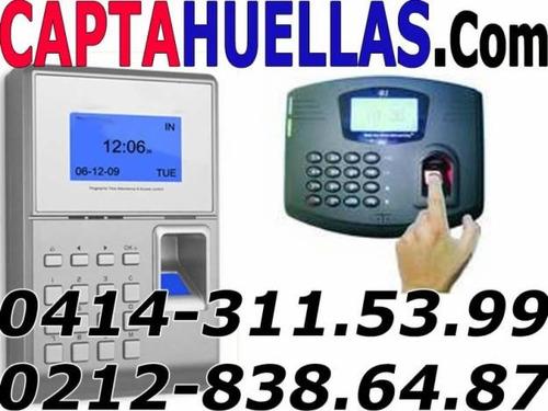 control de asistencia de personal  -  impresoras fiscales