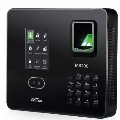 control de asistencia modelo marca zkteco mb200