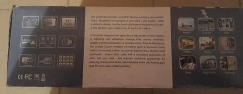 control de asistencia y acceso biometrico