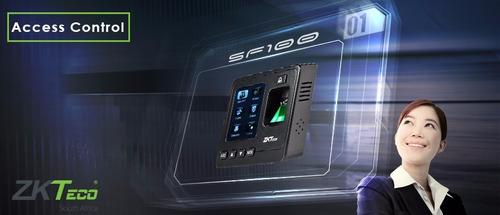control de asistencia y acceso zksoftware k20 abre puerta
