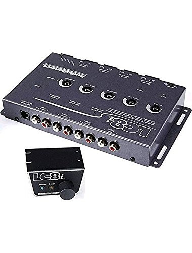 control de audio de ocho canales lc8igray convertidor de la