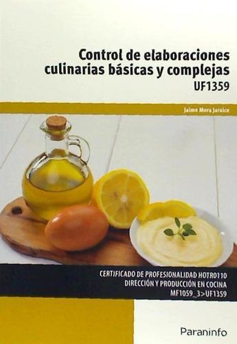 control de elaboraciones culinarias básicas y complejas. cer