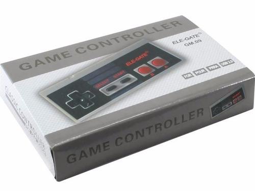 control de juego usb estilo nes classic