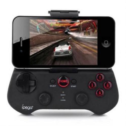 control de juegos bluetooth para celular ytablet - negro