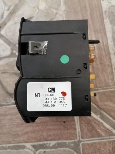 control de luces astra 2002