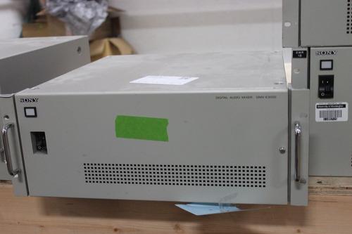 control de mezclador de audio digital sony dmx-e3000