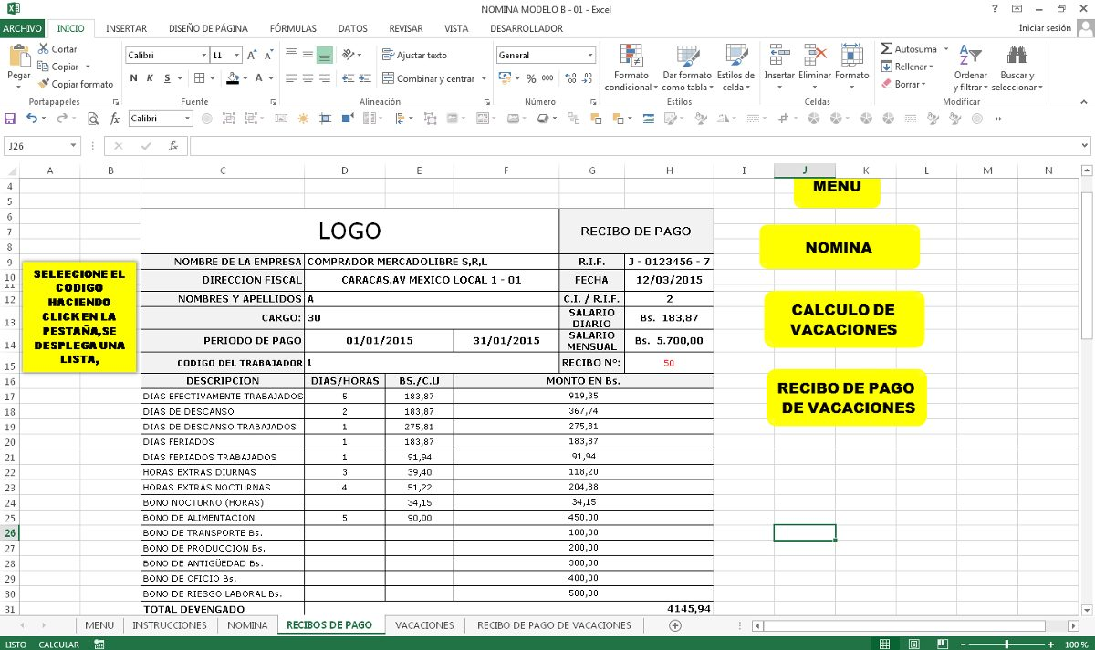 Escala Salarial Empleados De Comercio Recibo De Sueldo