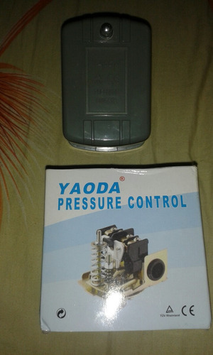 control de presostato para bomba de agua