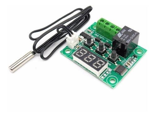 control de temperatura termostato w1209 incubadora acuario