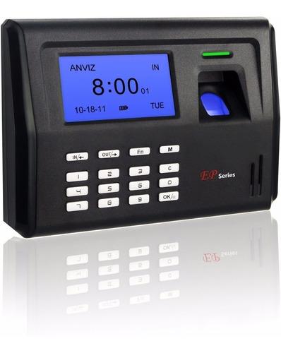 control de tiempos y asistencia biometrico anviz ep300