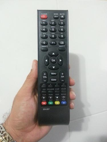 control de tv acus brial led